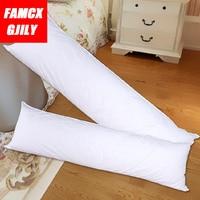 40x120cm White Long Pillow Inner Dakimakura Hugging Body Inner Cushion Pillow Bedroom Bedding Accessories Home Textile