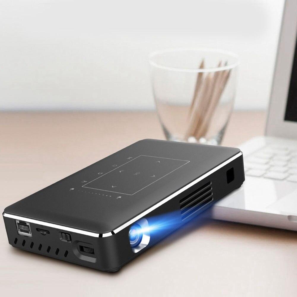 Kit de cinéma maison projecteur intelligent Mini projecteur Portable Support IR Wifi 4 K HD pour projecteur de téléphone Portable Android
