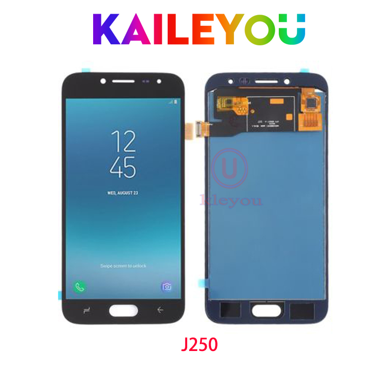 ツ 10pcs 5 0 For Samsung Galaxy J2 Pro 2018 J250 Lcd Display Touch Screen Digitizer Assembly Replacement For Samsung J250 Lcd Tft A55