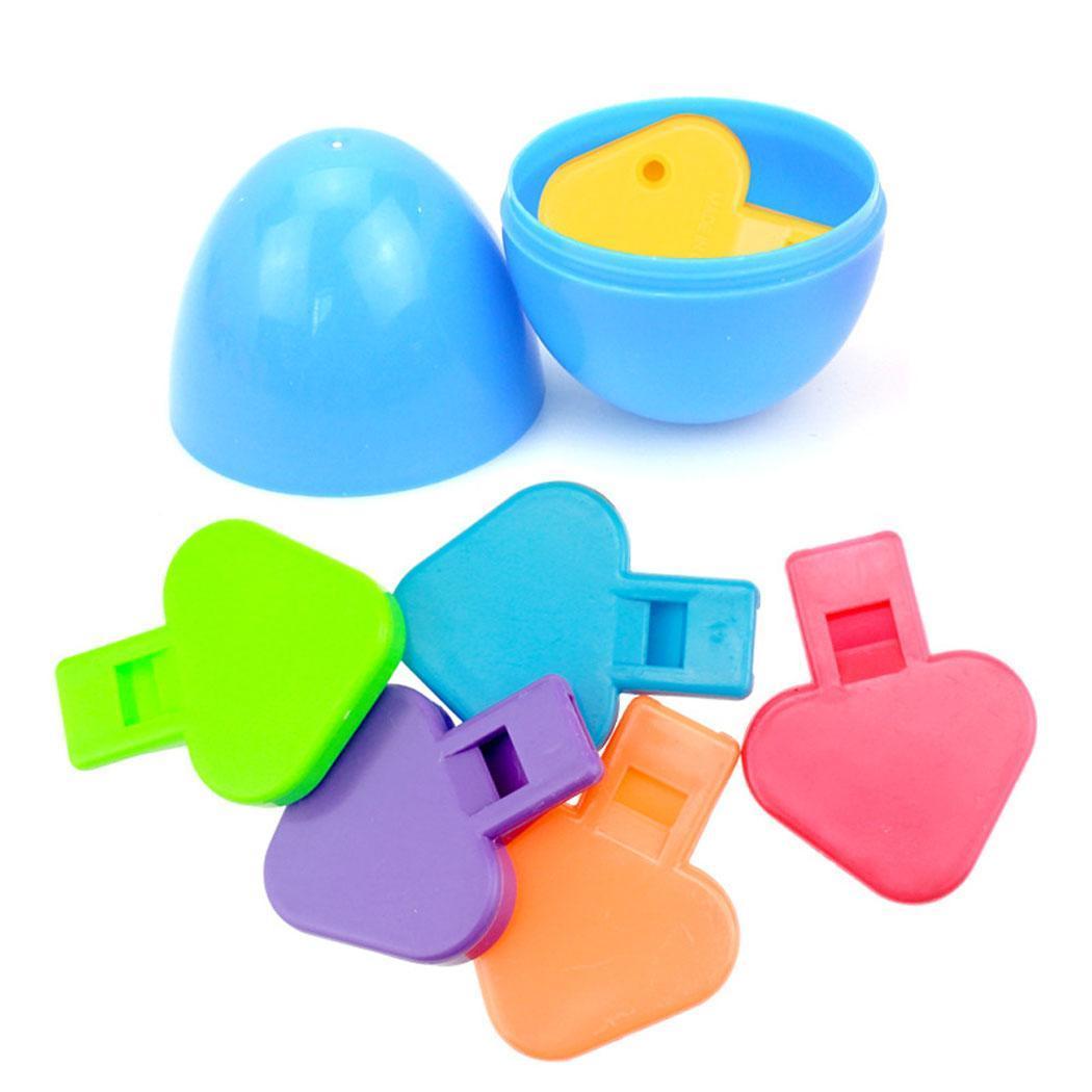 Kinder Ostern Eier Gefüllt Mit Pilz Pfeife Oval Ostern Party Kinder Spielzeug Hause, Geschenke Über 3 Jahre Geschickte Herstellung