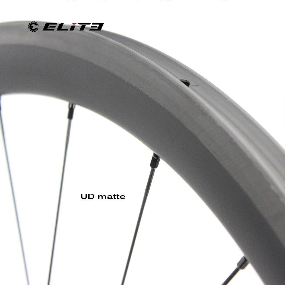 Best 1130g Only 700C Road Bike Tubular Wheelset Carbon Fiber Bicycle Wheel Bitex Straight Pull Hub For Clmbing Clincher 1230g 5