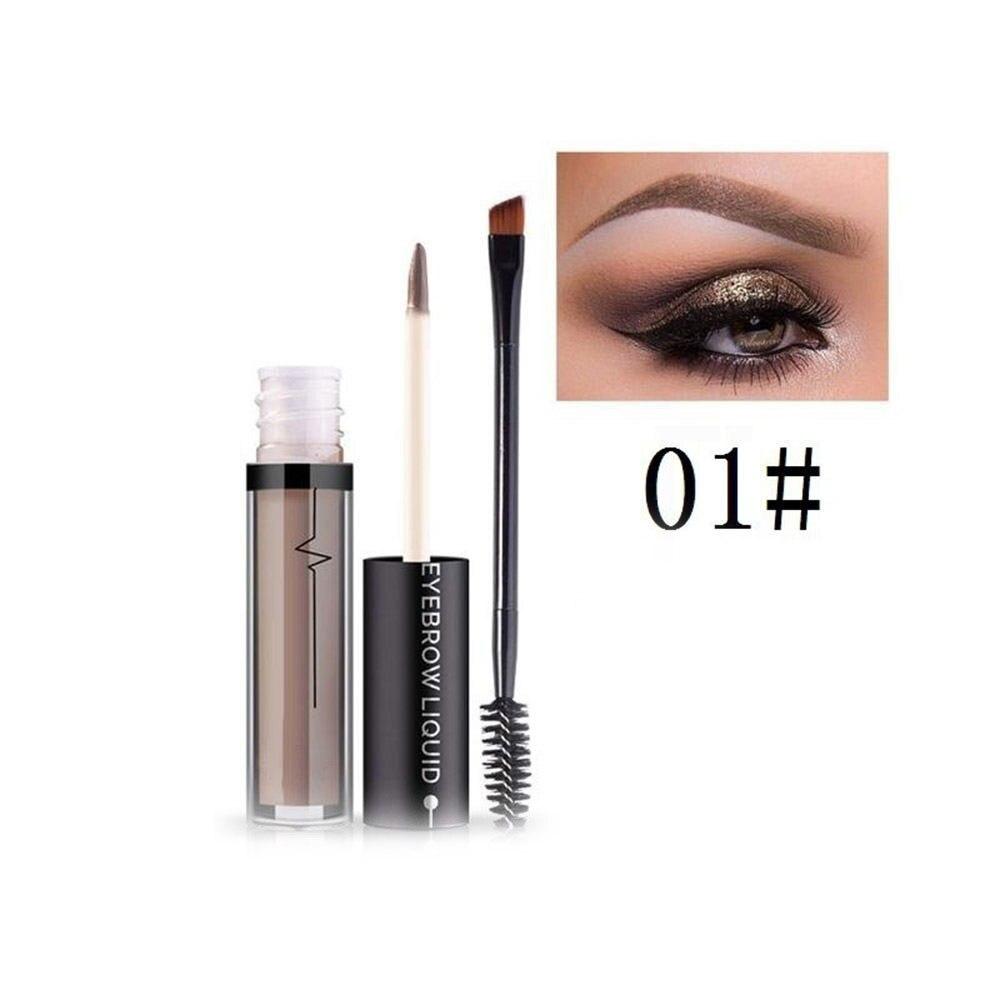 Eye Brow Tint Cosmetics Natural Long Lasting Paint Tattoo Eyebrow Liquid Waterproof Eyebrow Pencil Makeup Set
