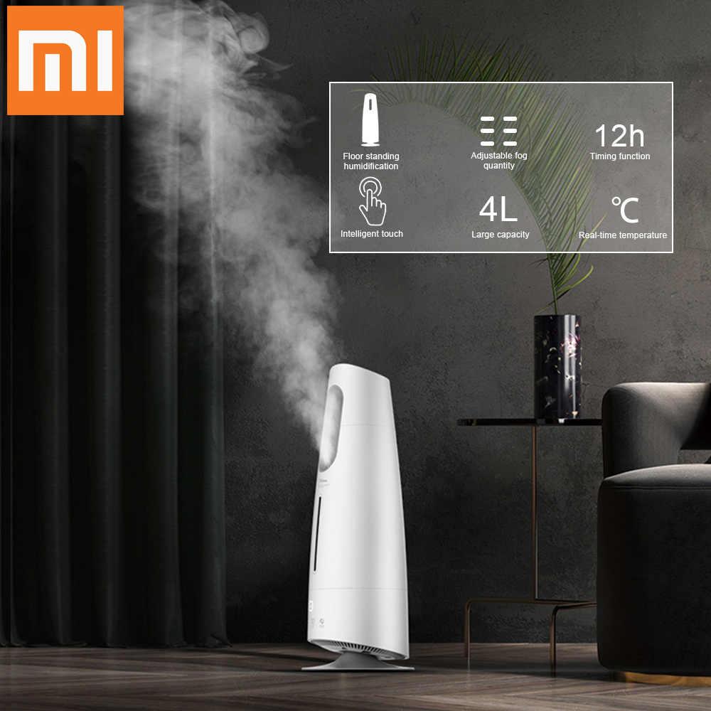 شاومي هوم ديرما جهاز تنقية الهواء ضباب صانع شاشة تعمل باللمس 4l فواحة عطور تنقية الهواء غرف مكيفة الهواء مكتب منزلي