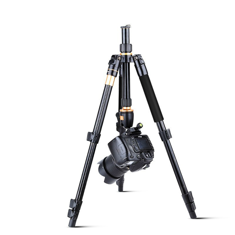 Q555 Professional Tripod Aluminum Alloy Flexible Camera Tripod Stand Camera Video Monopod Extendable Quick Release Plate Stand bt 158 aluminium alloy 1460mm camera video monopod professional extendable tripod slr dslr holder stand with carry bag