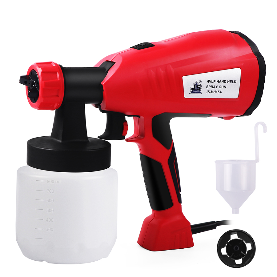 Electric Spray Gun HVLP Paint Sprayer Hand Held Sprayer Gun For Painting Cars Wood Furniture Wall
