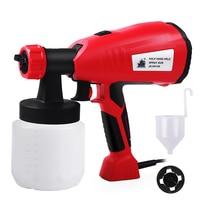 Electric Spray Gun HVLP Paint Sprayer Hand Held Sprayer Gun For Painting Cars Wood Furniture Wall Woodworking