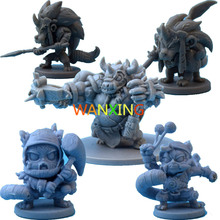 1/72 Plastic Model Role-playing Games Arcadia Quest Explore Alexandre Arcady Second Wars Mount Expand Monster And Hero