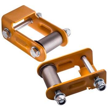 New Rear Leaf Spring Shackle Kit S-10 S-15 Sonoma Bravada Blazer S10 Jimmy (Pair)