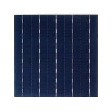 ALLMEJORES 0,5 V 4,45 W célula solar policristalina para diy 12V panel solar 25 unids/lote + suficiente cable de tabulación y alambre de barra colectora