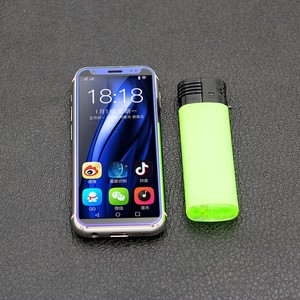 "Image 5 - תמיכת Google לשחק MTK6580 Quad Core אנדרואיד 8.1 3G smartphone 3.5 ""קטן מיני נייד טלפון 2GB RAM 16GB ROM כפולה ה sim K TOUCH"