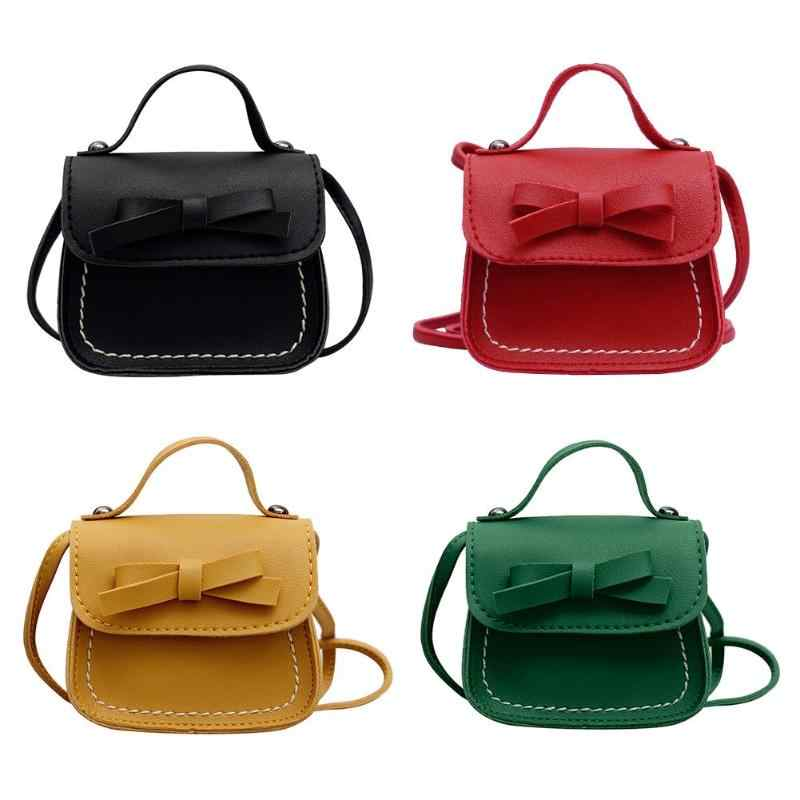 84fed3733635 Detail Feedback Questions about Bowknot PU Leather Mini Messenger ...