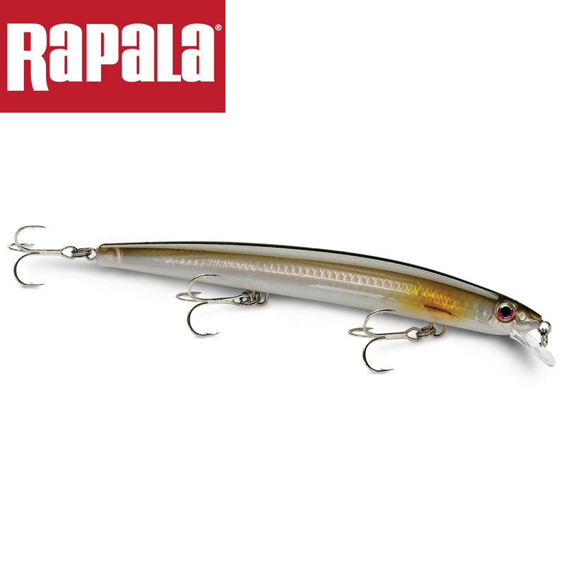 Rapala Brand Maxrap Series Mxr11 Fishing Lure 11cm 13g Hard Fishing Bait 0.3 0.9 Deapth Max Cast Bait With 2 Vmc Hooks 3d Eyes