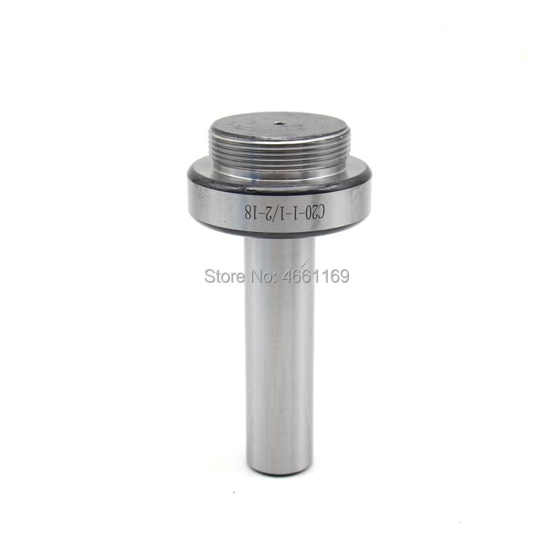 Straight C20 20mm Boring Shank For F1-12, F1-18, F1-25 Boring Head,connecting Thread: 1-1/2