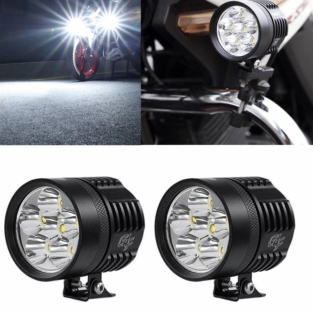 universal motorcycle fog lights led fog lamp protect. Black Bedroom Furniture Sets. Home Design Ideas
