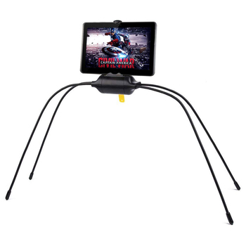 Black Color ABS Material Flexible Tablet Holder For Bed Newest Adjustable Stand For iPad Tablet and Cell Phone soporte tablet