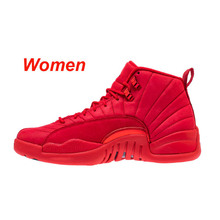on sale 3891d 8a360 Jordan Retro 12 Xii Männer Basketball Schuhe Frauen Die Master Red Gym Gs  Barons Grippe Spiel