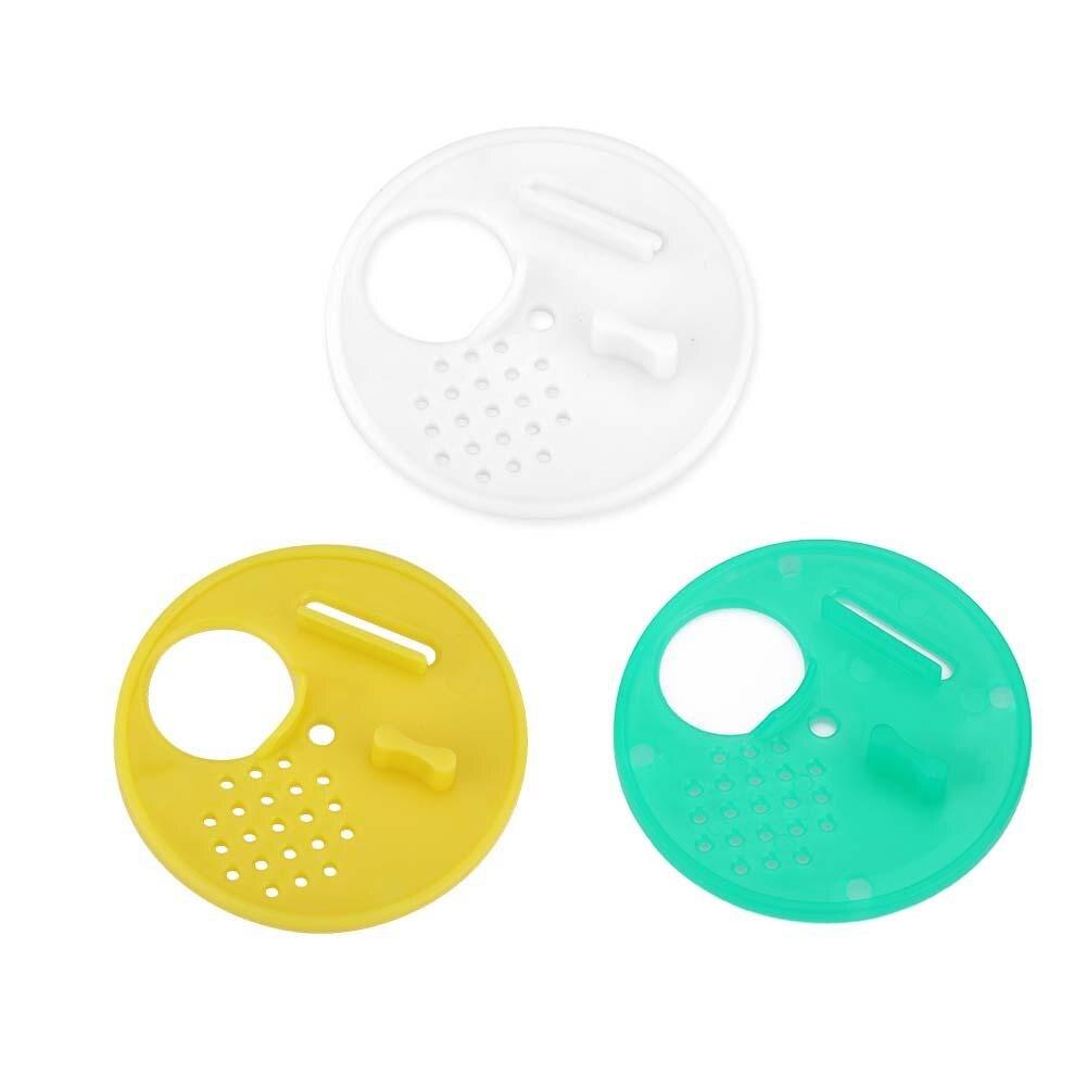 12x Plastic Round Beehives Nest Door Vent Beehive Beekeeping Tools for Beekeeper
