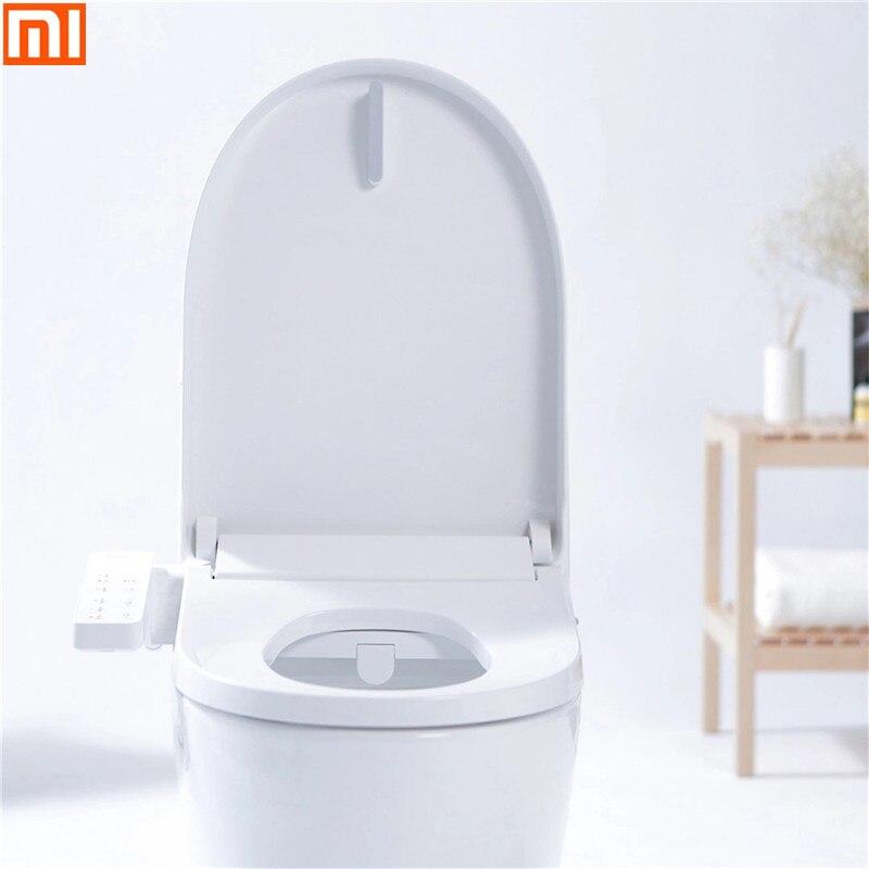Xiaomi Smartmi Multifunctional Smart Toilet Seat Led Night Light 4-grade Adjustable Water Temp Electronic Bidet Pedestal Toilet