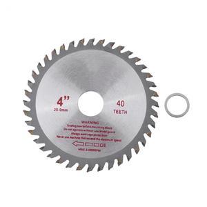 Image 2 - 4/7 סנטימטרים 40T שיניים ביצרו קרביד מסור עגול להב עץ חיתוך כלי נשא קוטר 20mm/ 25.4mm עץ חיתוך כוח כלים