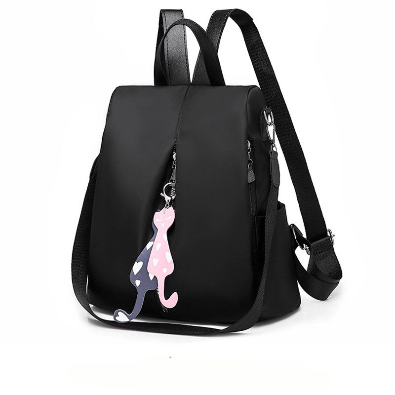 HOT Women Backpack PU Leather Backpacks For Teenage Girls Female School Shoulder Bag Bagpack Mochila