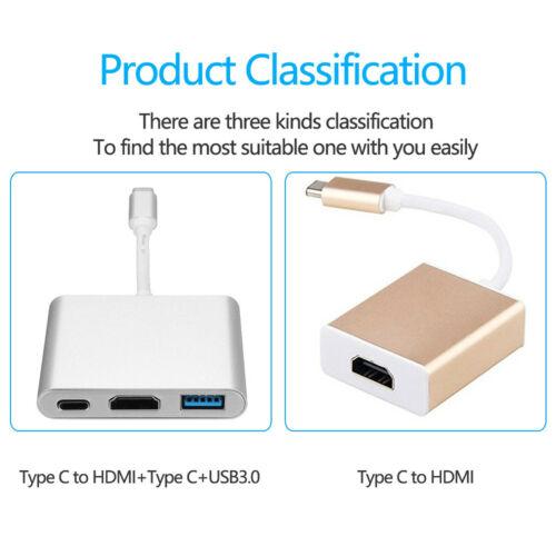 Besiuni USBC 3.1 USB Type C Converter to USB 3.0 / HDMI / TypeC Charger Adapter