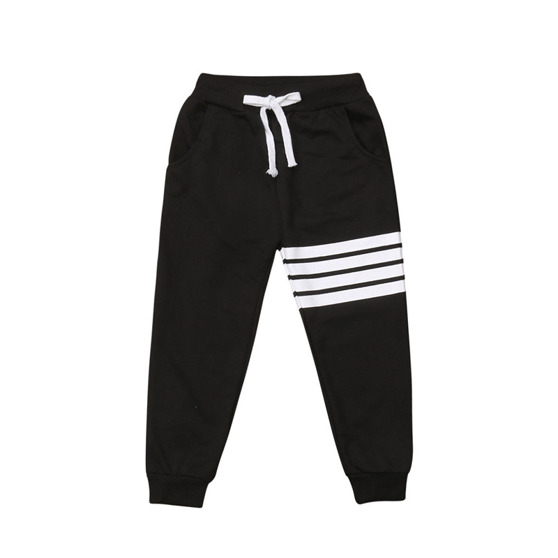 Kids Boys Harem Pants Trousers Casual Loose Bottom Sweatpants Clothes 2-7 Years