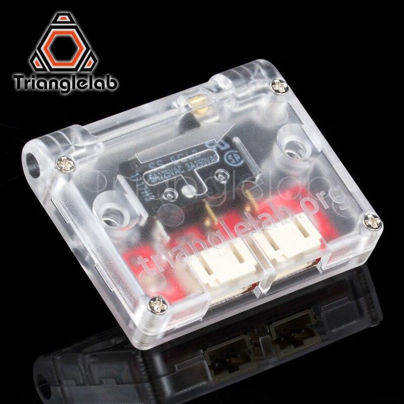 Trianglelab filamento runout sensor 3d impressora parte módulo de detecção material 1.75mm filamento detecção módulo