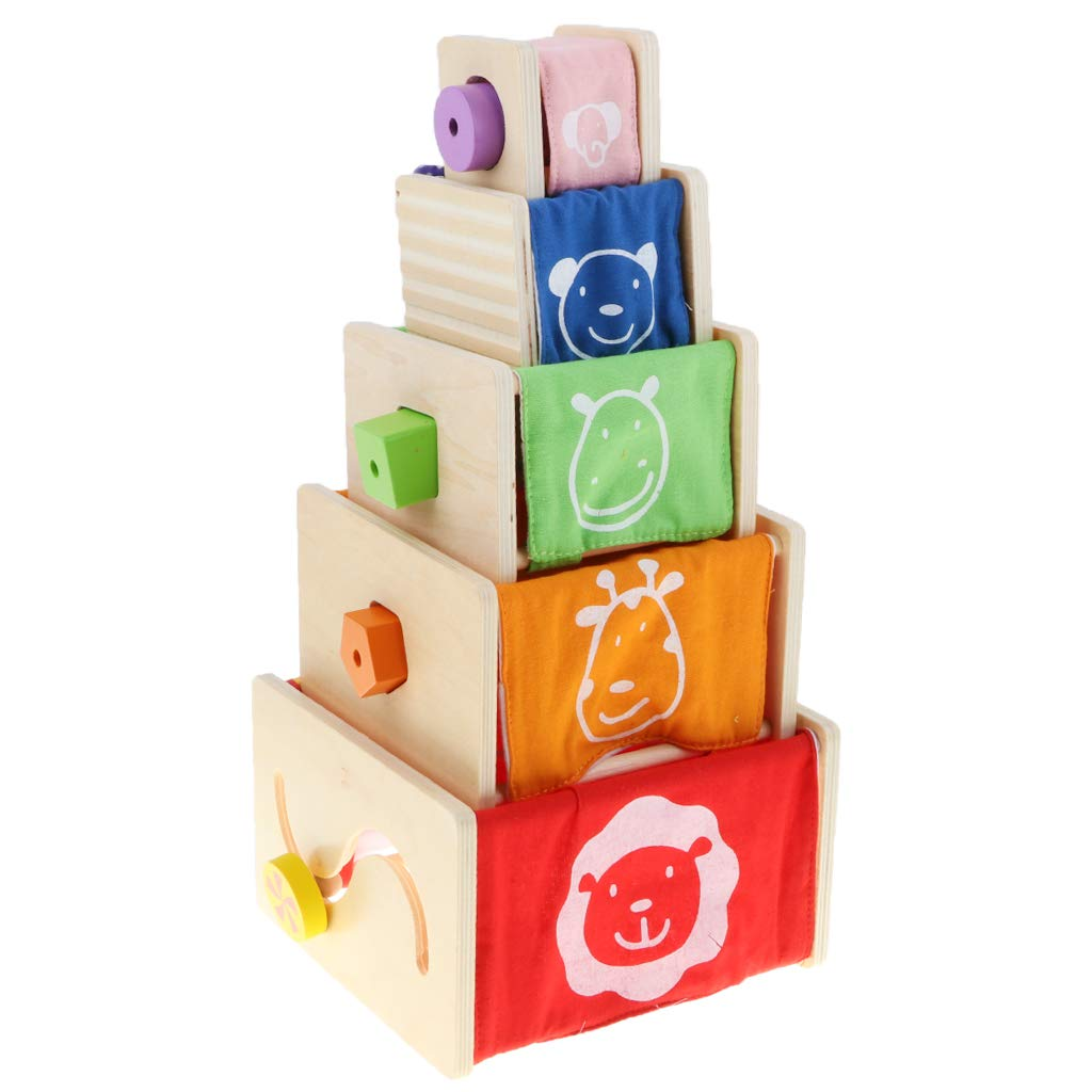 Montessori boîte d'apprentissage en bois couleur forme Cognition main-oeil Coordination apprentissage précoce jouets éducatifs pour enfants enfants
