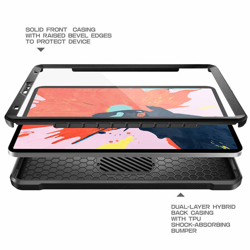 official photos 8e1cd 61fb8 For iPad Pro 11 Case SUPCASE UB PRO Full-body Rugged Cover with Built-in  Screen Protector&Kickstand,Not Compatible Apple Pencil