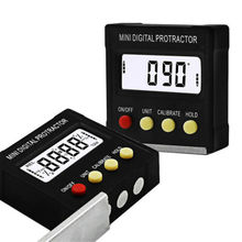 Cube Inclinometer Angle Gauge Meter Digital LCD Protractor Electronic Level Box Screen Protectors