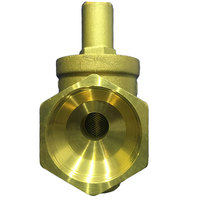 Pressure Reducing Valves Reliable Brass Water Pressure Regulator with Gauge Flow DN20 3/4 Connector