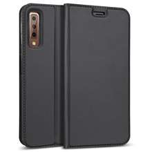 Luxury Leather Flip Case For Samsung Galaxy A7 A9 2018 Case For Samsung A9 2018 Cover Card Slots Kickstand Full Protective Case alis protective pu leather case w card holder slots for samsung galaxy s4 mini white