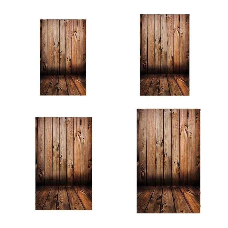 ALLOYSEED planche de bois planches fleurs photographie arrière-plans tissu Studio bébé enfants photographie arrière-plan Photo accessoires de fond