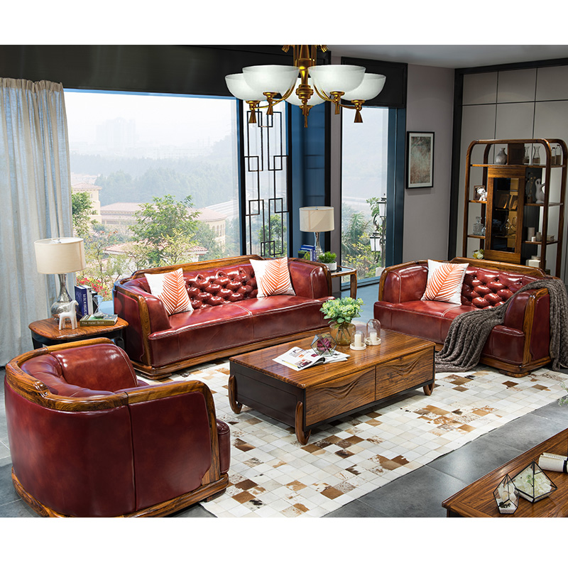 Us 7785 07 Couches For Living Room Sofa Furniture Set Mobilya Koltuk Takimi Leather Sofas Divano Design Wooden Love Seat American Country In Living