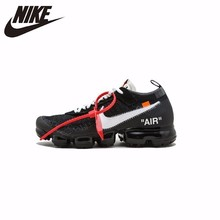 eecf2a380a6 Nike Nik X OFF-WHITE AIR VAPORMAX OFW Men s Running Shoes Outdoor  Comfortable