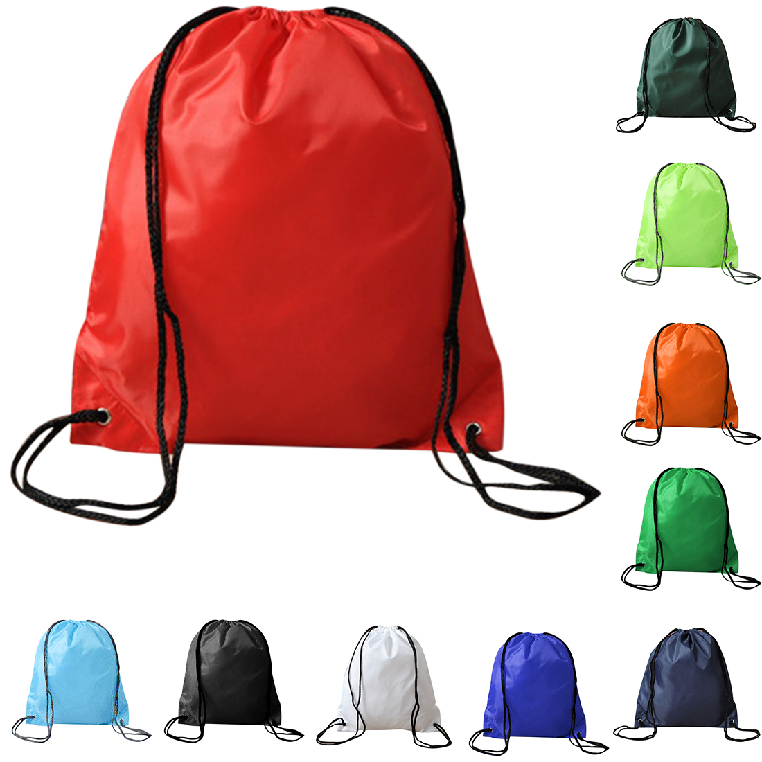 Drawstring Bags String Sack Beach Women Men Travel Storage Package Functional Backpack Plecak Worek Sznurek Gift Pouch Fashion
