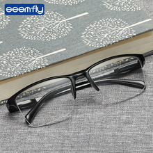 Seemfly Fashion Comfortable Resin Reading Glasses Brand Design Classical Presbyopia Ultralight Man Women High Quality