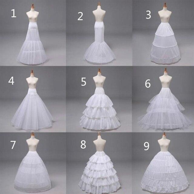 חדש תחתונית תחתוניות שמלת שמלה תחתונה חישוק חצאית טבעות חתונה שמלה לבן