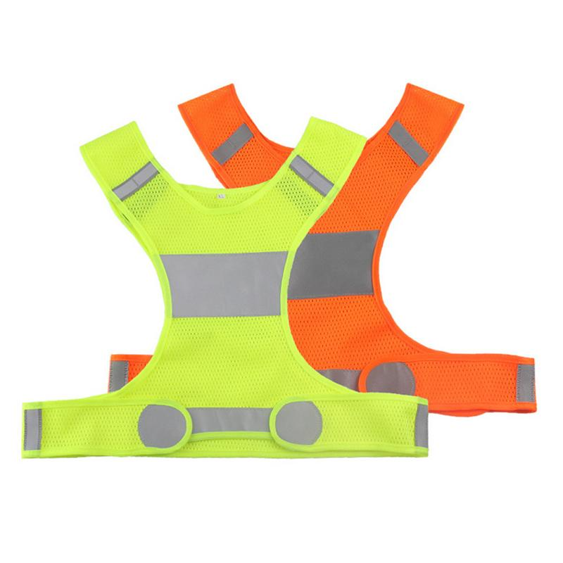 Unisex Outdoor Night Riding Running Reflective Vest Sports Vest For Outdoor Sports And Operations At Night M/ L/ XL
