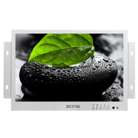 10.1 inch open HD IPS LCD monitor HDMI embedded cabinet industrial 1080P medical display