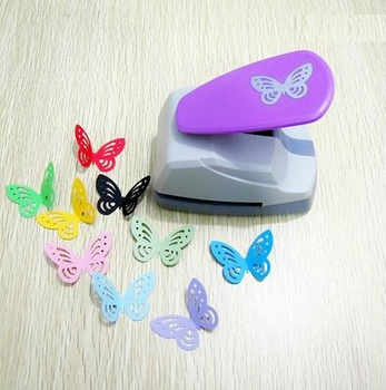 4.4cm Butterfly 3D Shape Board Puncher Paper Punches Cutter Punch For Scrapbooking Greeting Card Handmade Scrapbook Furador Eva - DISCOUNT ITEM  10 OFF Education & Office Supplies