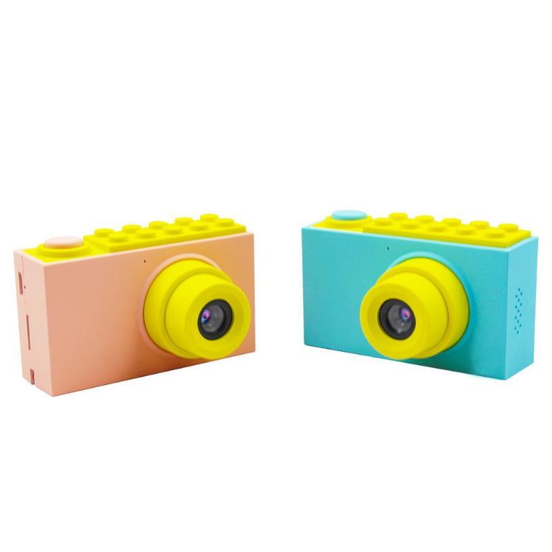 Mignon Mini 2 pouces enfants caméra numérique Cartoon 800 P SLR enregistreur vidéo caméra jouets pour garçon fille enfants anniversaire nouvel an cadeaux