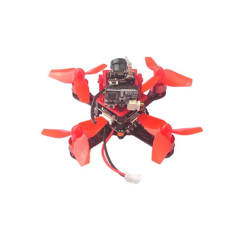 Best quality Mini Trainer66 66mm 1S <font><b>FPV</b></font> <font><b>Racing</b></font> <font><b>Drone</b></font> PNP Kit w/ Flysky DSM-2 / X Frsky Receiver For Indoor Racer fast shipping image