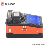 Free Shipping A 81S Fusion Splicer cheap Fiber Optic Welding Splicing Machine Ship By DHL