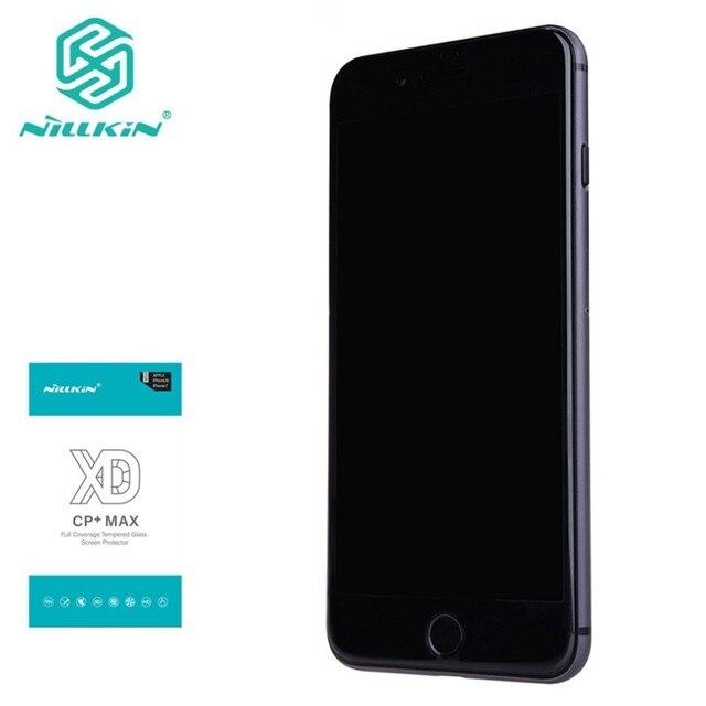 NILLKIN XD Protector de pantalla antideslumbrante para iPhone, Protector de pantalla de vidrio templado para iphone 7, 8 plus, 8 plus, 3D