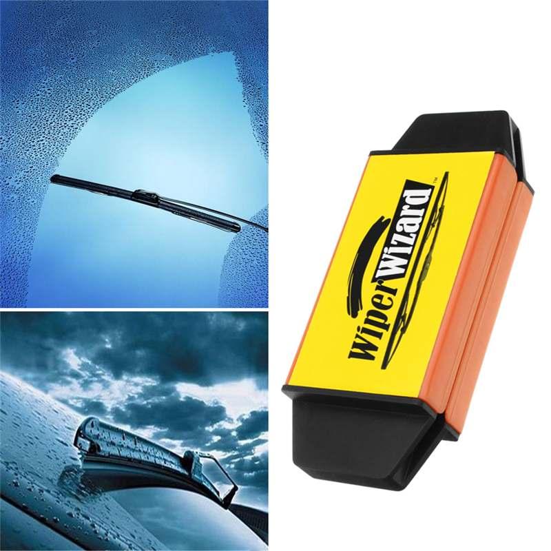 Car Wizard Wiper Blade Restorer – Wipes, Wiper Cleaning Brush, Windscreen Cleaner