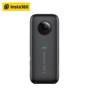 Image 2 - Insta360 jeden X aparat akcji VR 360 panoramiczny aparat dla IPhone i Android 5.7 K wideo z 128G baterii niewidoczne selfie kij