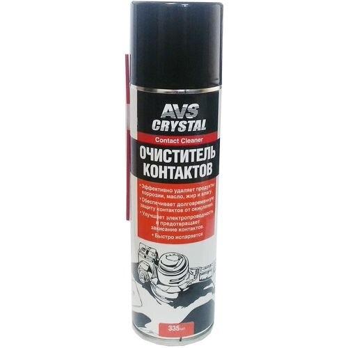 все цены на Cleaner электроконтактов (spray) 335 ml. AVS AVK-033 онлайн