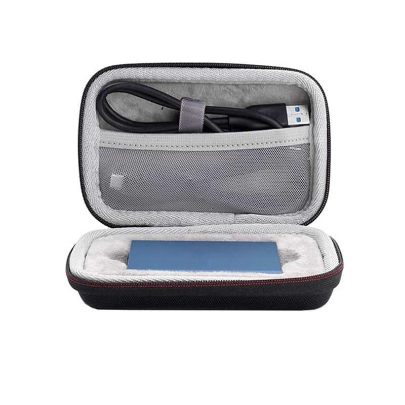 Hot AMS-Baru Membawa Case untuk Samsung T1 T3 T5 Portable 250 Gb 500GB 1TB 2TB SSD USB 3.1 Eksternal SSD Penyimpanan TR