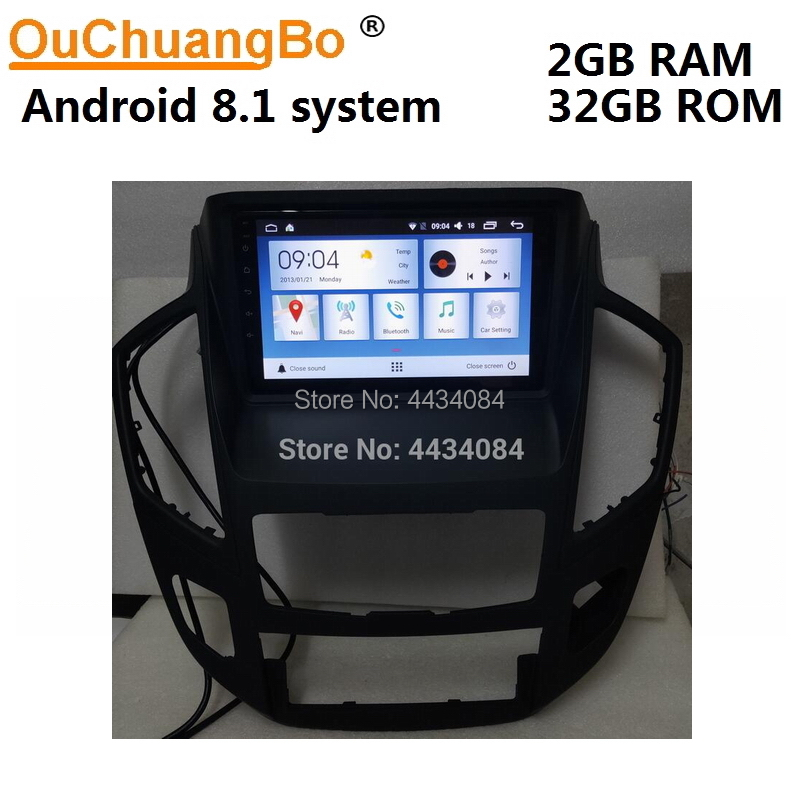 Ouchuangbo car audio radio gps head unit for Dongfeng Fengshen AX7 2015-2018 support 4 core USB SWC android 8.1 free Russia map